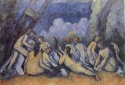 Paul Cezanne The Bathers china oil painting reproduction